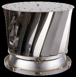 RVS ventilatie buis