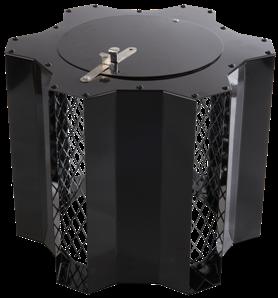 zwarte ventilator